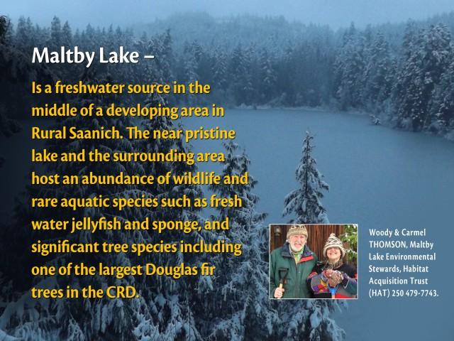 ENAC Maltby Lake - Freshwater Source