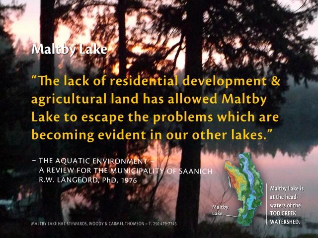 ENAC Maltby Lake - RW Langford