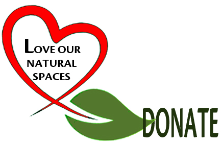 Love our NaturaL Places Heart DONATE
